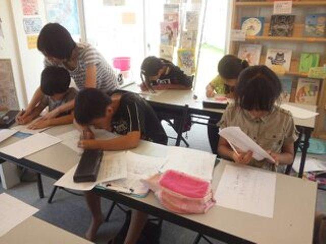8月1日硬筆教室